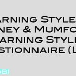 Learning Styles – Honey & Mumford Learning Styles Questionnaire (LSQ)