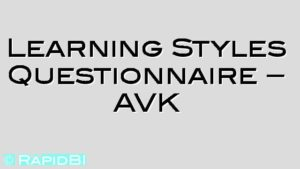 Learning Styles Questionnaire – AVK