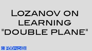 "Lozanov on learning ""double plane"""