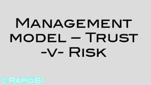 Management model – Trust -v- Risk