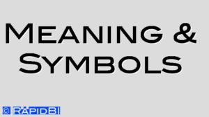 Meaning & Symbols