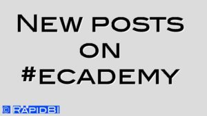 New posts on #ecademy
