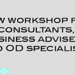 New workshop for consultants, business advisers and OD specialists