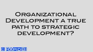 Organizational Development a true path to strategic development?