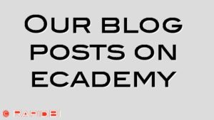 Our blog posts on ecademy