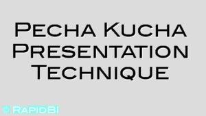 Pecha Kucha Presentation Technique