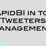 RapidBI in top 100 Tweeters on Management