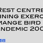 Rest centre training exercise to mange bird flu pandemic 2005