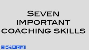 Seven important coaching skills