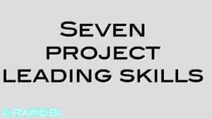 Seven project leading skills