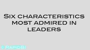 Six characteristics most admired in leaders