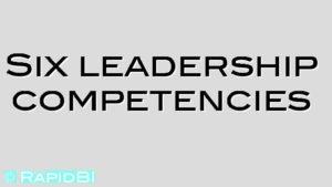 Six leadership competencies
