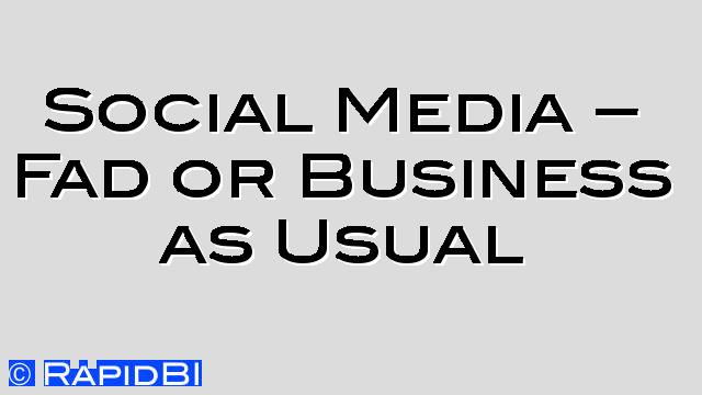 social media definition business dictionary
