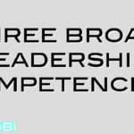 Three broad leadership competencies