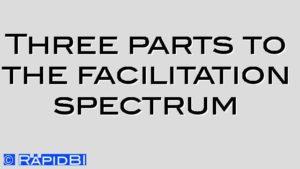 Three parts to the facilitation spectrum