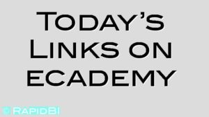 Today's Links on ecademy