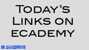 Today's Links on ecademy
