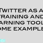 Twitter as a training and learning tool – some examples
