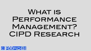 What is Performance Management? CIPD Research