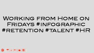 Working from Home on Fridays #infographic #retention #talent #HR