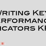 Writing Key Performance Indicators KPI's
