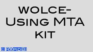 wolce- Using MTA kit