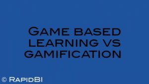 Game based learning vs gamification
