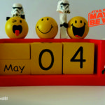Just because…. it's May 4th – or Star Wars day #StarWarsDay
