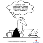 Fun Friday – weekly office cartoon #296 #ff #timemanagement