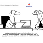 Fun Friday – weekly office cartoon #311 #ff Facebook recruitment
