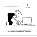 Fun Friday – weekly office cartoon #315 #ff respect