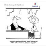 Fun Friday – office with a view – weekly office cartoon #337 #ff
