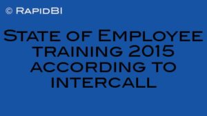 State of Employee training 2015 according to intercall