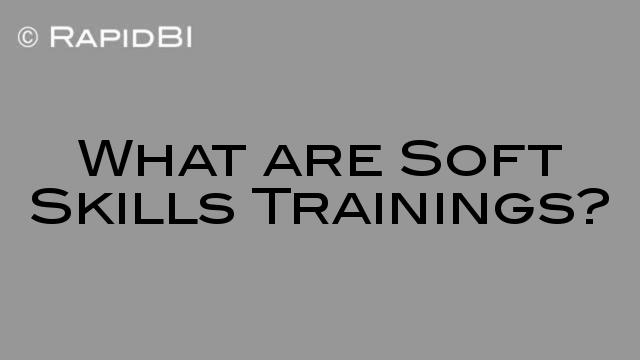 Soft Skills and Technical Skills Training - what is the difference?