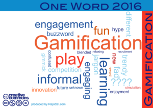 One word 2016 HR gamification trends
