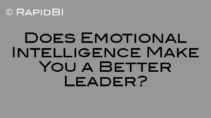 Does Emotional Intelligence Make You a Better Leader?