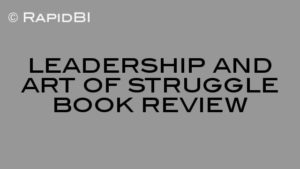 leadership and art of struggle book review