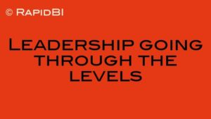 Leadership going through the levels