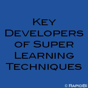 Key Developers of Super Learning Techniques