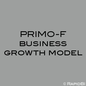 PRIMO-F business growth model