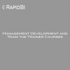 Management Development and Train the Trainer Courses