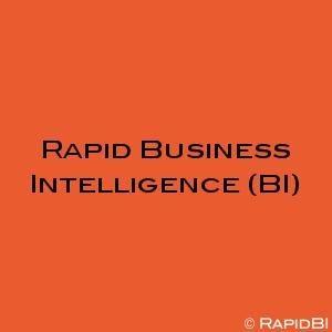 Rapid Business Intelligence (BI)