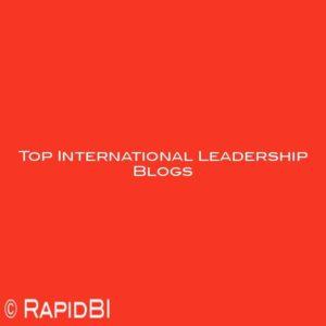 Top International Leadership Blogs