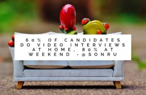 candidates do videos at home