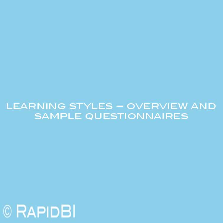 image regarding Learning Styles Quiz Printable named Discovering Patterns - questionnaires and tools