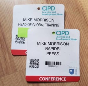 Two badges - one person - how to get ignored at trade shows