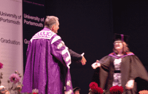 graduation handshake, how to greet someone you have not met before