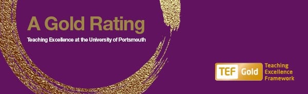 portsmouth university gold teaching