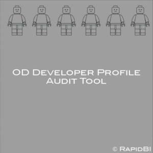 OD Developer Profile Audit Tool