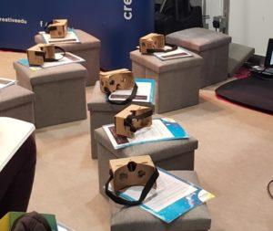 VR-cardboard headsets